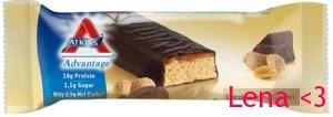 Atkins peanut caramel