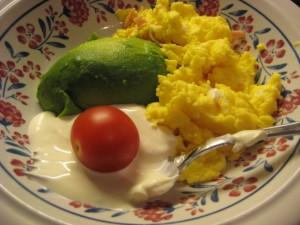 Eggerøre med tilbehør