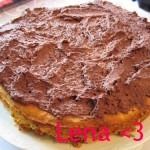 Kake med sjokoladekrem