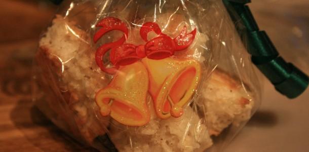 Kokosmakroner gaveinnpakket